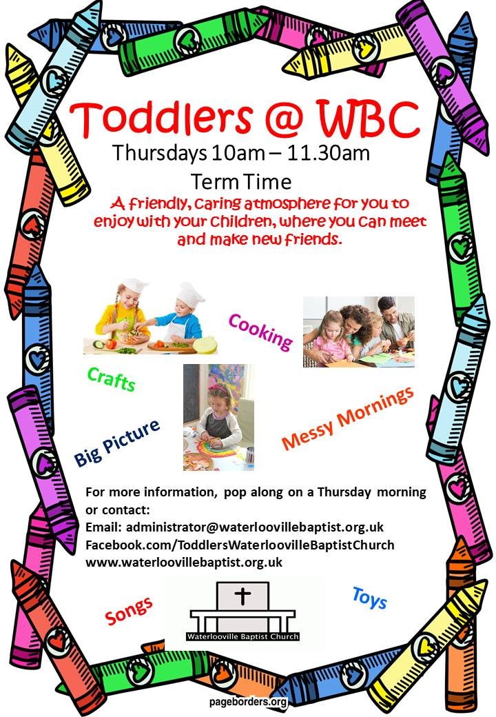 Toddlers Poster Sept 17